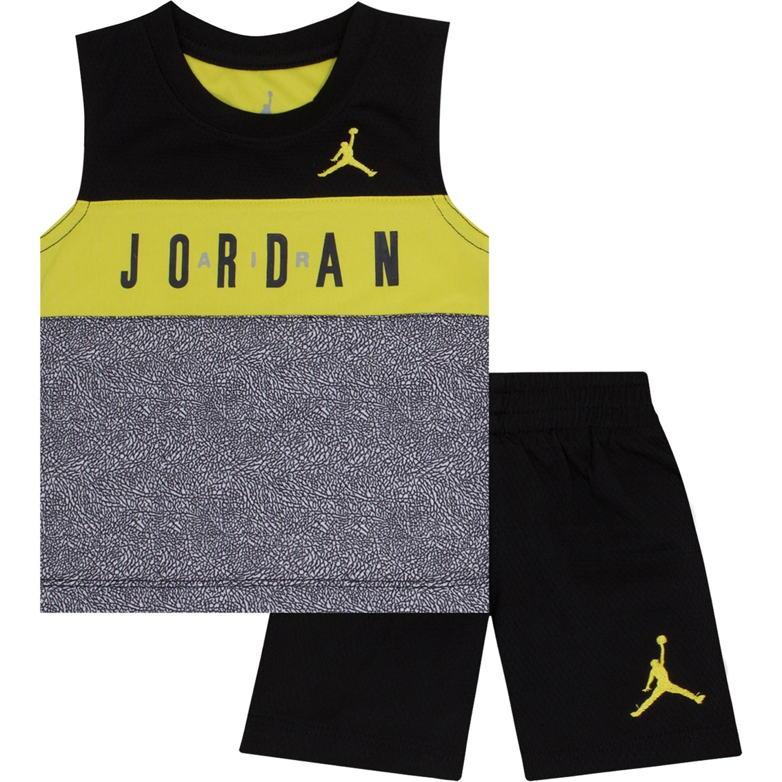 0db1230a0af Jordan Infant Boys 2 Pc. Tricot Tank And Shorts Set   Baby Boy 0-24 ...