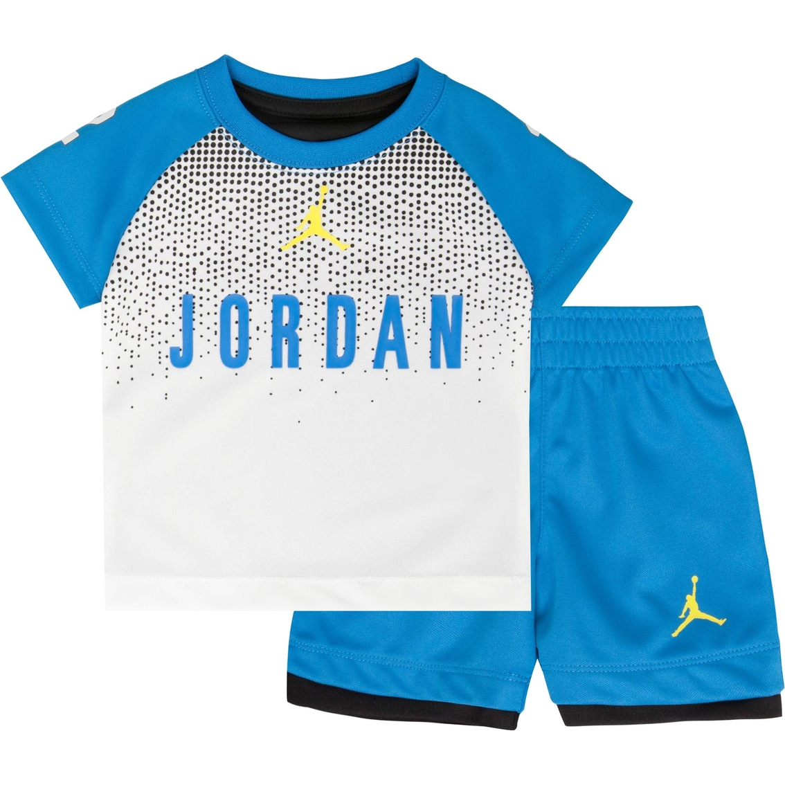 38f94c7256f Jordan Infant Boys 2 Pc. Tricot Tee And Shorts Set   Baby Boy 0-24 ...