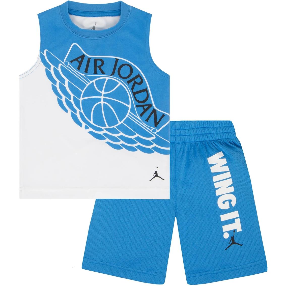 c52c2703edc Jordan Toddler Boys 2 Pc. Tricot Tank And Shorts Set | Toddler Boys ...