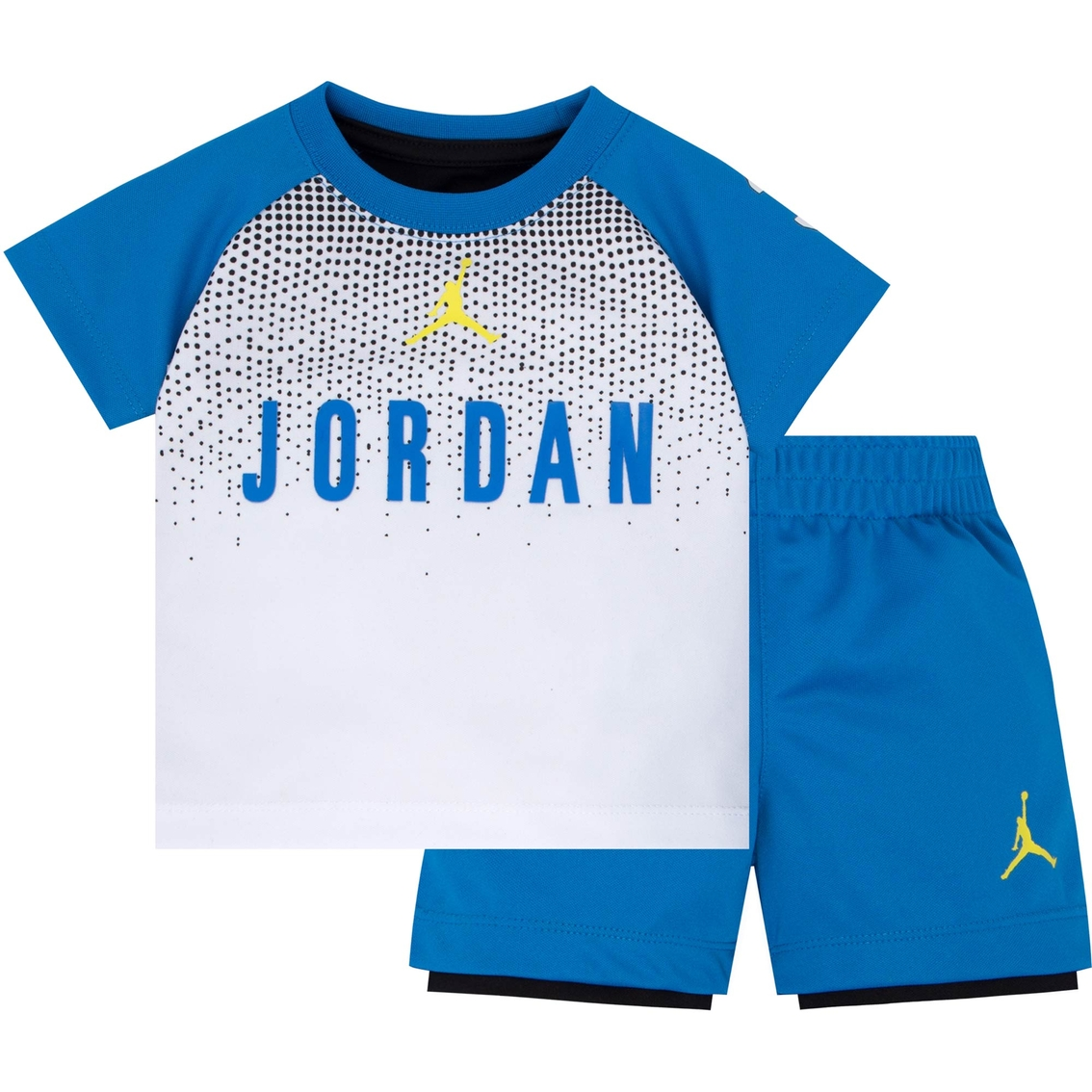 6f982aa01cfe Jordan Toddler Boys 2 Pc. Tricot Tee And Shorts Set