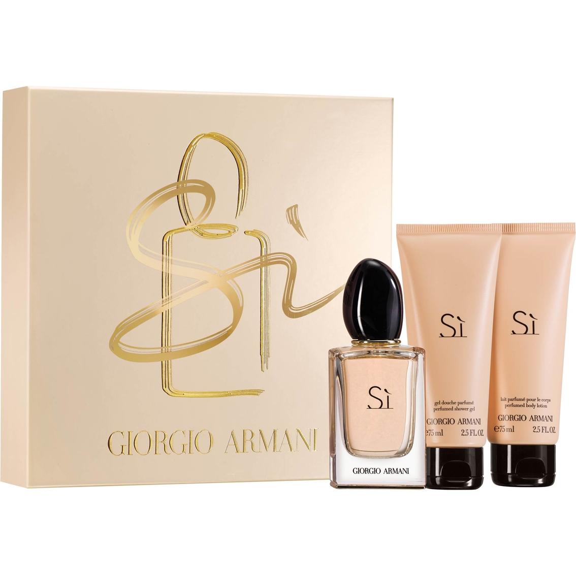 new photos thoughts on 100% genuine Giorgio Armani Si Eau De Parfum 3 Pc. Set | Gifts Sets For ...
