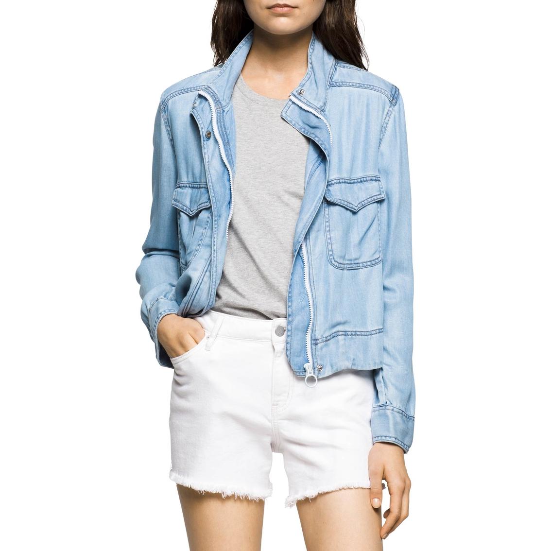 64994c86ebe5 Calvin Klein Jeans Utility Jacket | Jackets | Apparel | Shop The ...