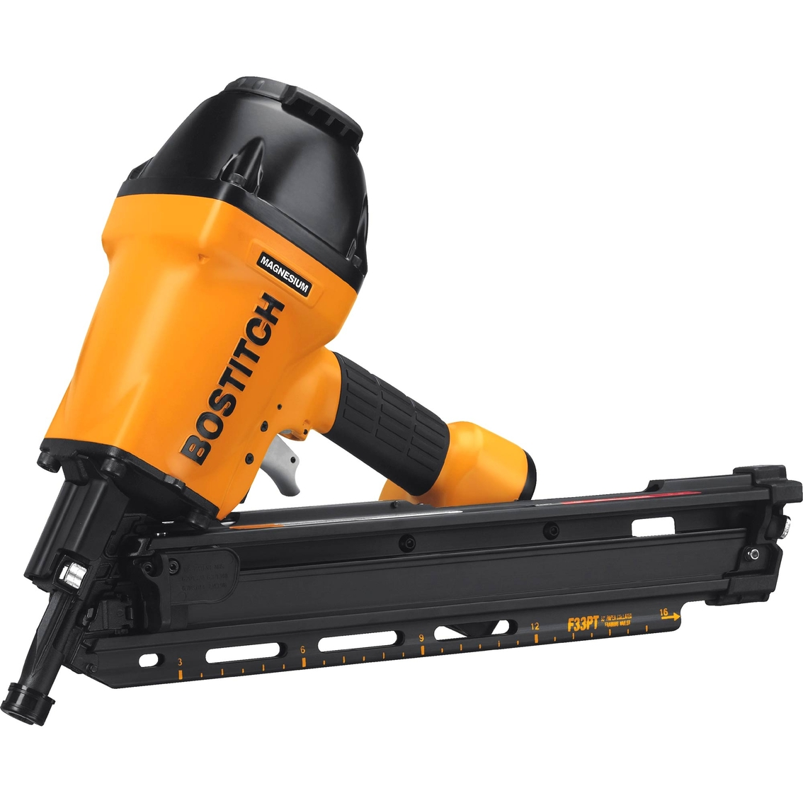 Bostitch 33 Degree Paper Tape Framing Nailer | Pneumatic Tools ...