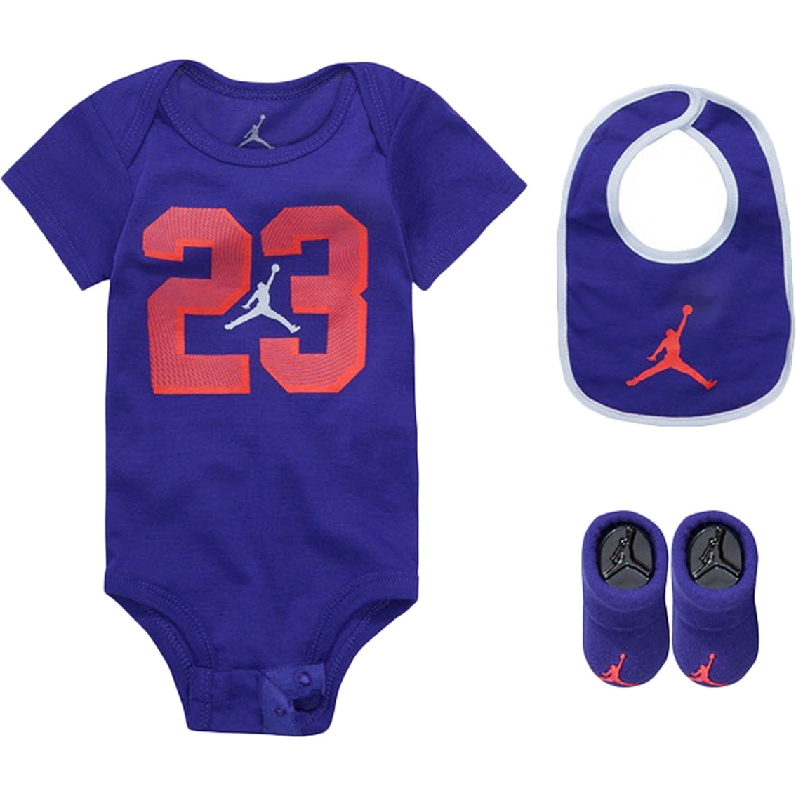 de597299b Jordan Infant Girls 23 Flow 3 Pc. Bodysuit Set | Baby Girl 0-24 ...