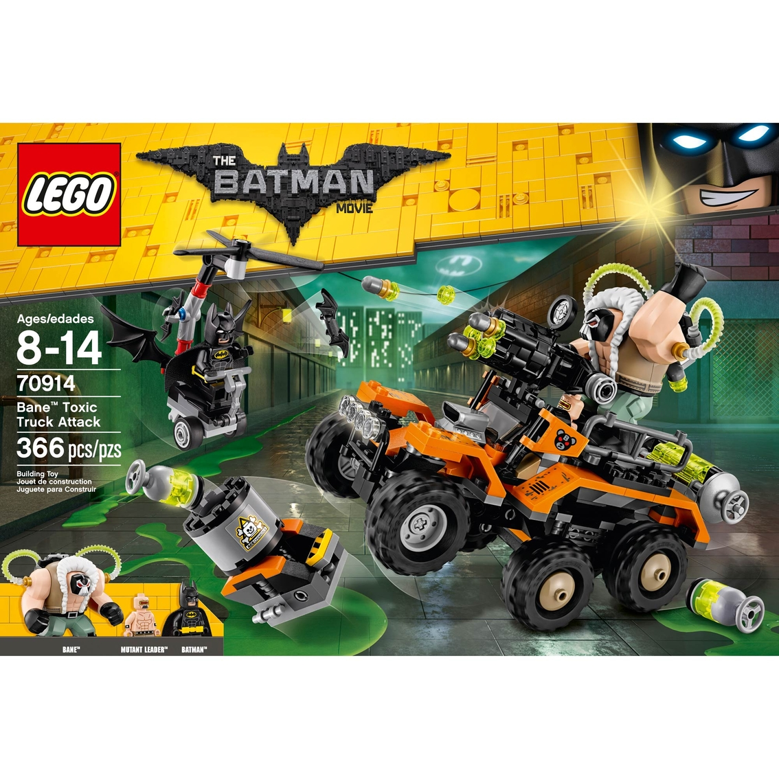 Lego The Batman Movie Bane Toxic Truck Attack Building Toys Baby Toys Shop The Exchange
