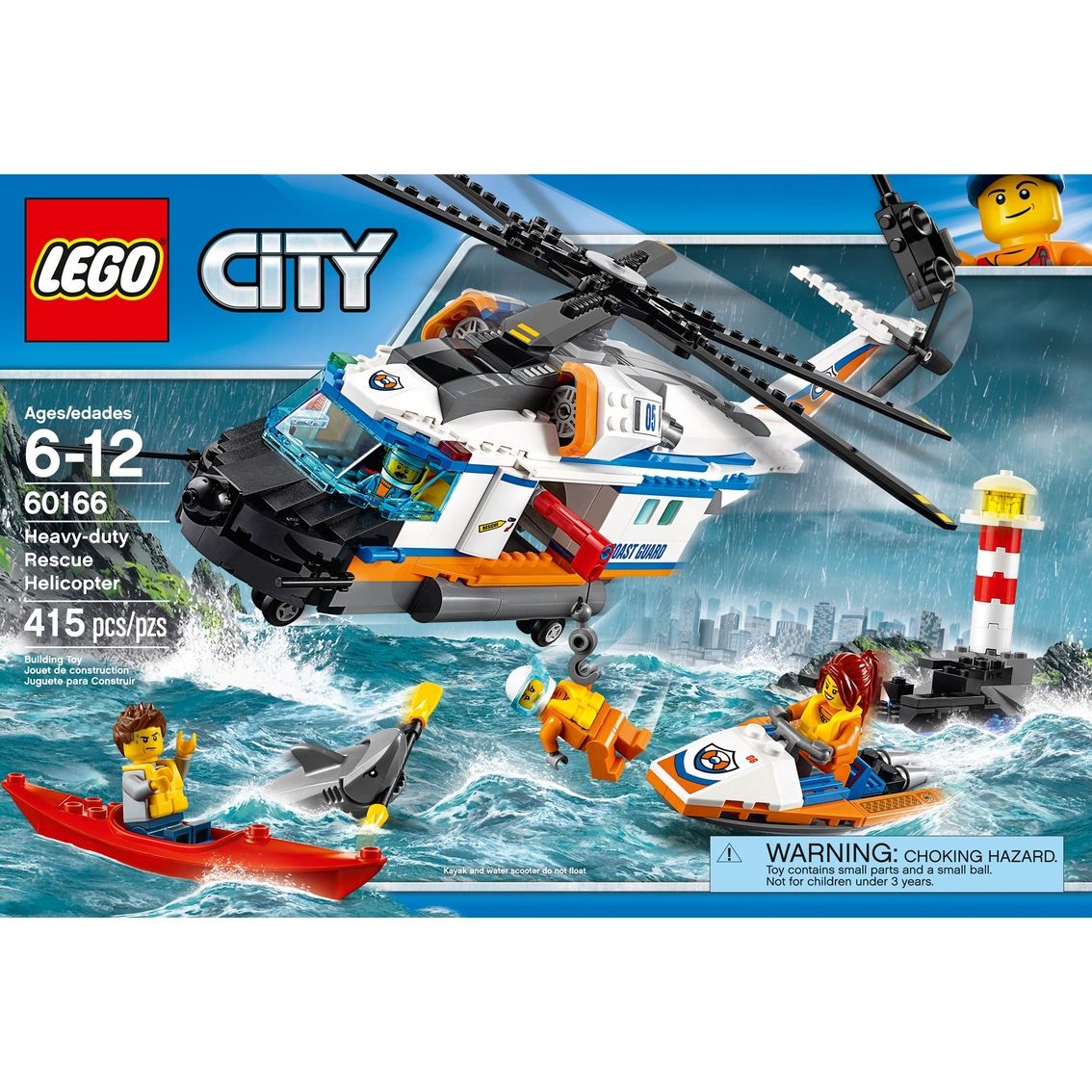 Lego City Heavy Duty Rescue Helicopter Building Toys Baby Toys Shop The Exchange