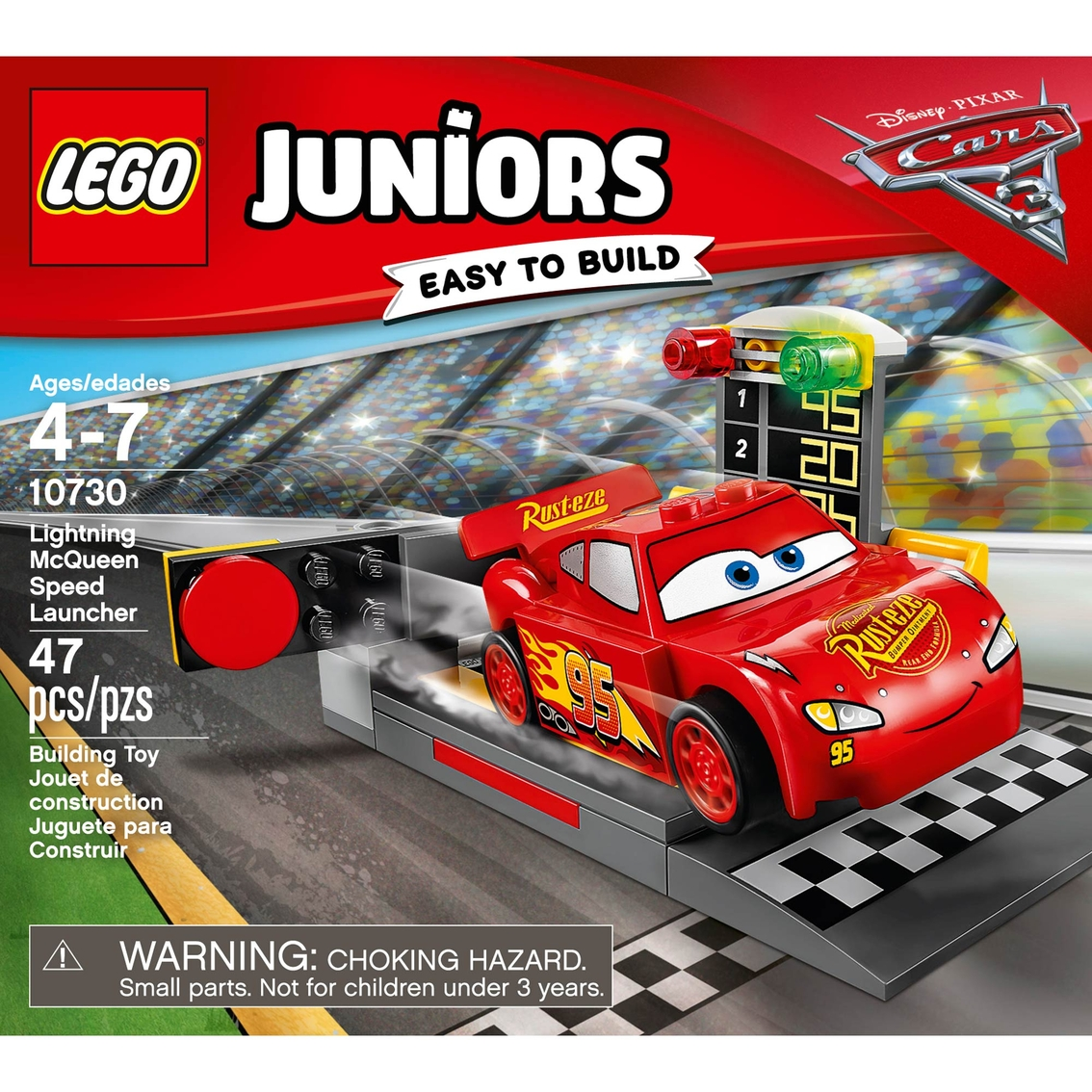 lego juniors lightning mcqueen speed launcher lego juniors baby