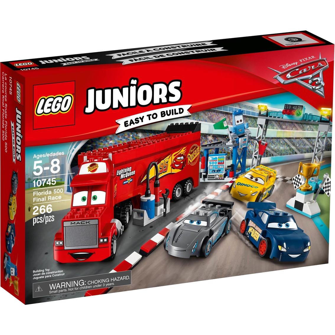Groovy Lego Juniors Disney Pixar Cars 3 Florida 500 Final Race Evergreenethics Interior Chair Design Evergreenethicsorg