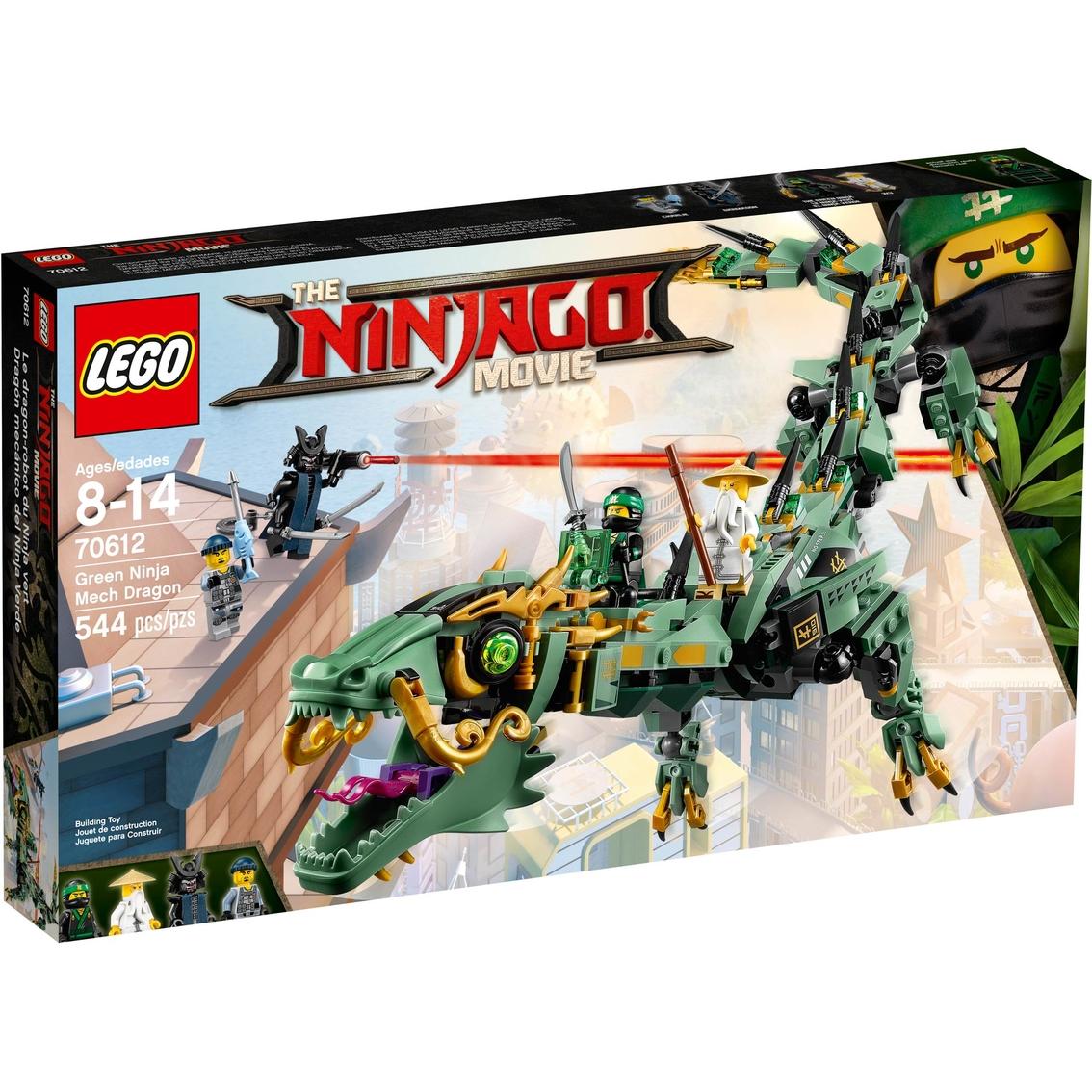 Lego Ninjago Green Ninja Mech Dragon Lego Ninjago Baby Toys