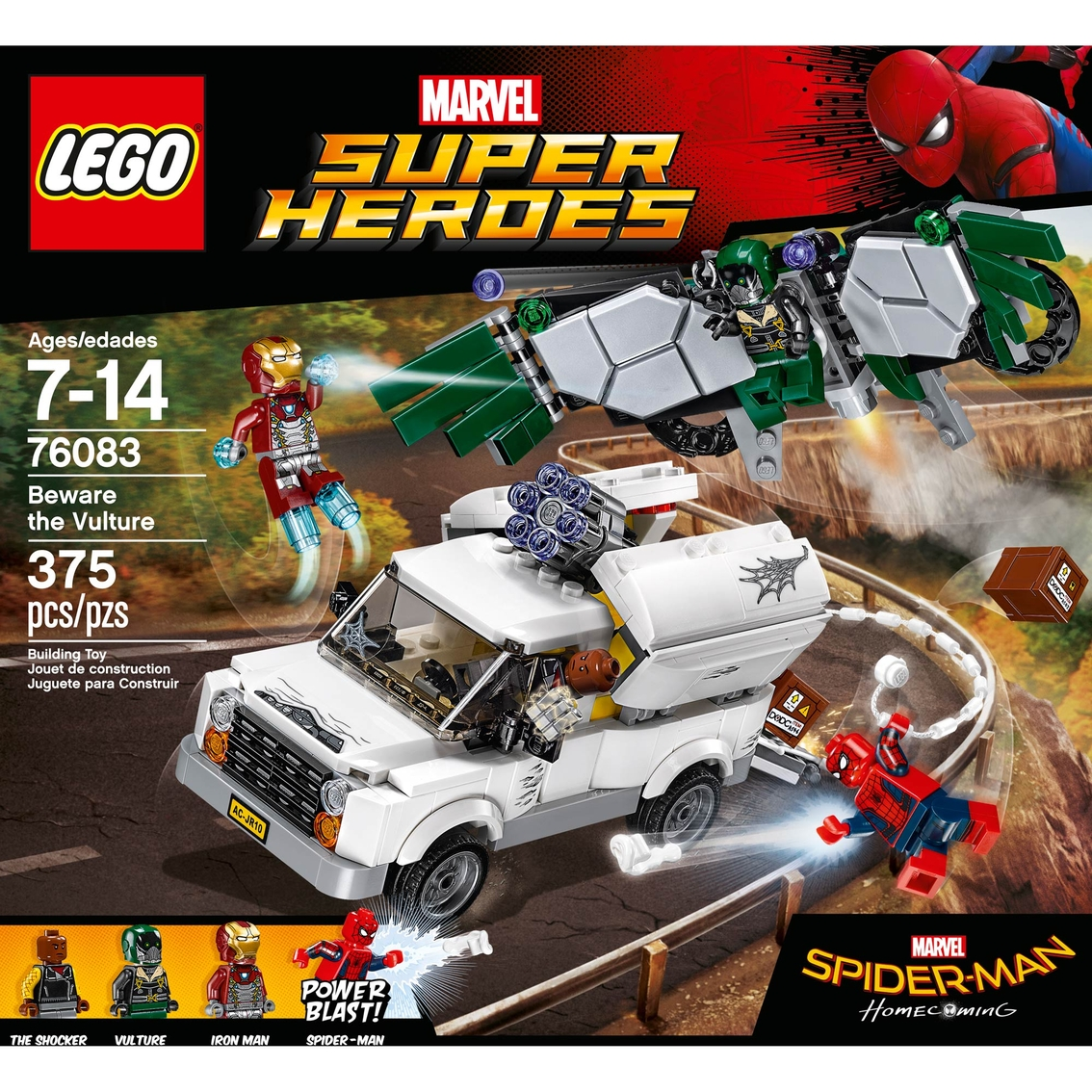 Lego Marvel Super Heroes Beware The Vulture Lego Marvel Super