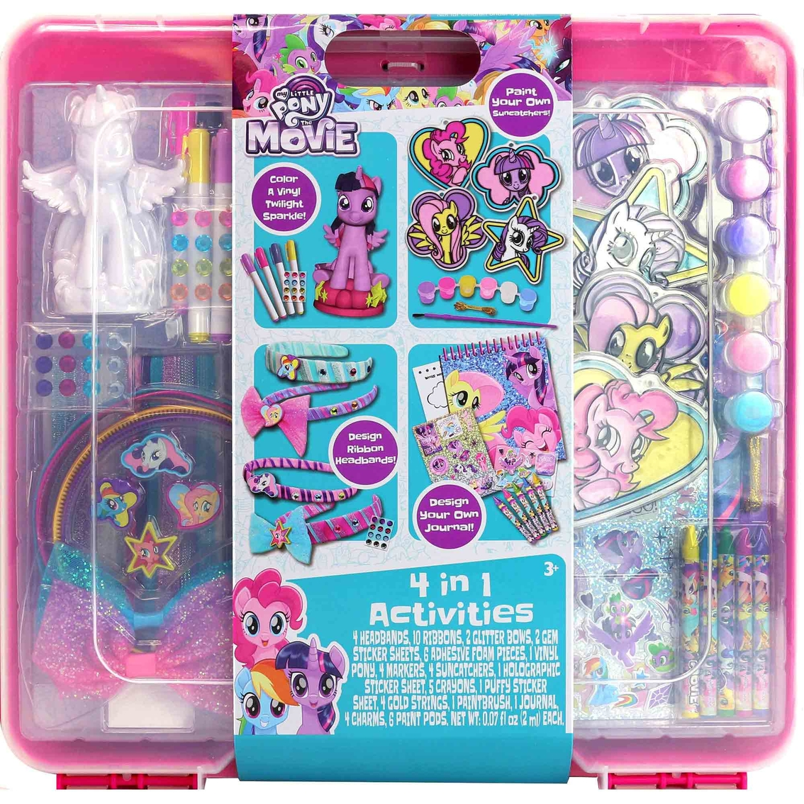 MY LITTLE PONY Complete Set 6 FIGURES for Collectors 3D FIGURINES with Base 2/""