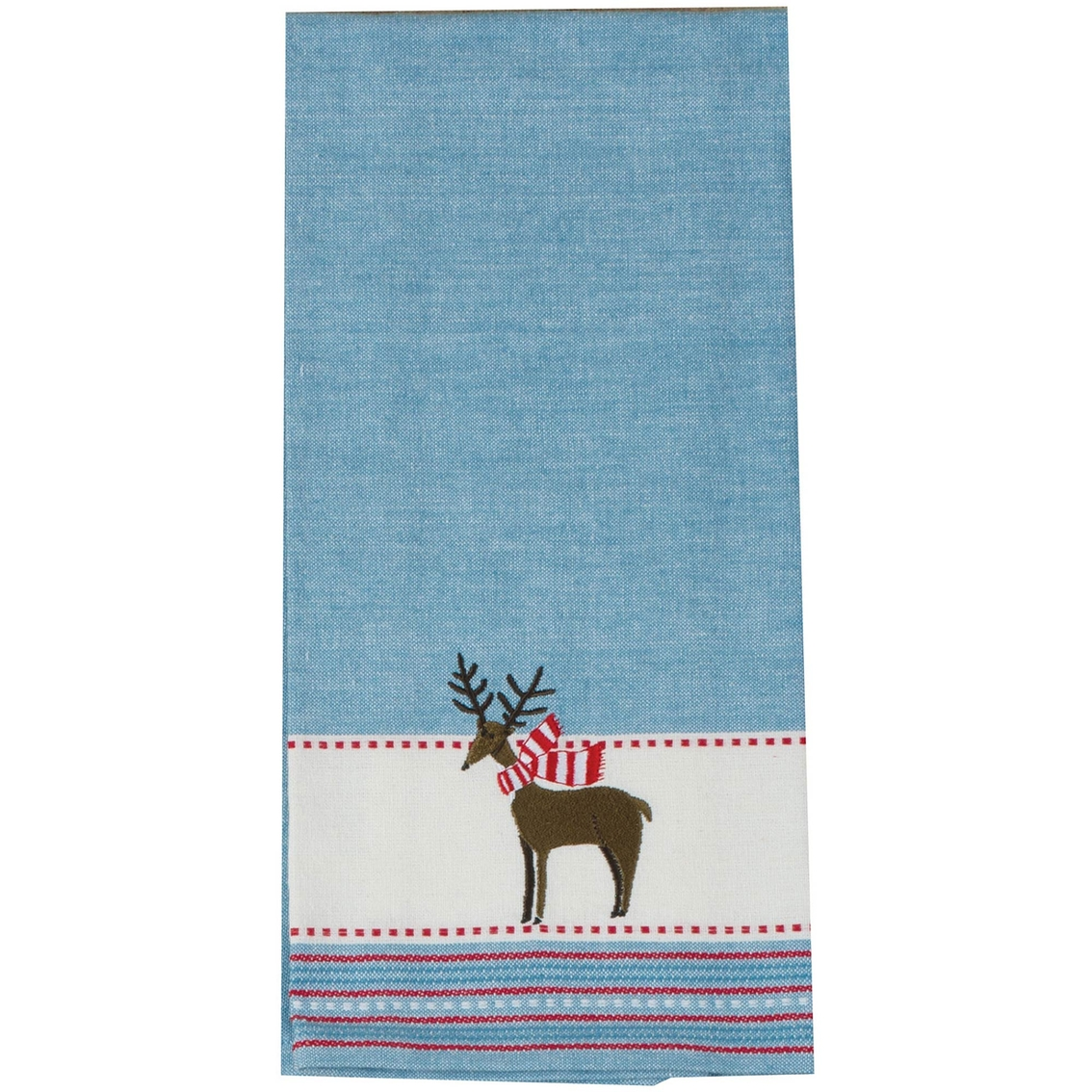 Kay Dee Designs Woodland Christmas Embroidered Tea Towel | Kitchen ...