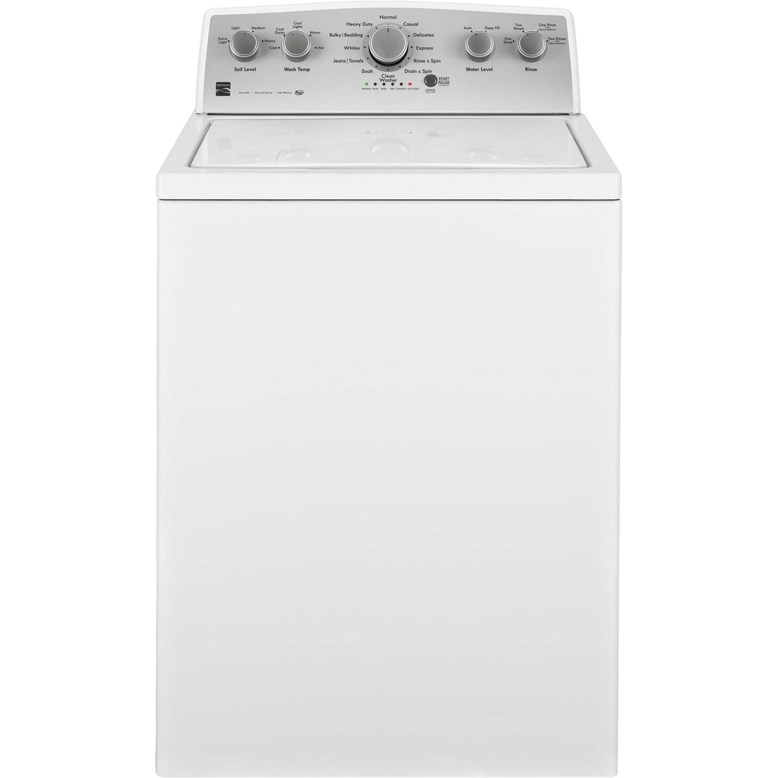 kenmore he washer. kenmore 4.2 cu. ft. top load washer with deep fill he e