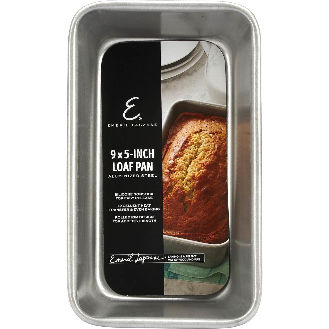 emeril lagasse aluminized steel nonstick 9 in x 5 in loaf pan