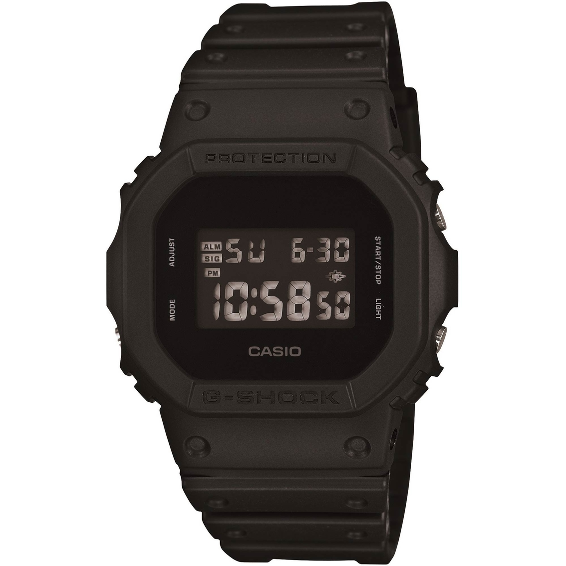 Casio Men's Baby G Shock 100M Tough Sport Model Watch DW 5600BB 1CK