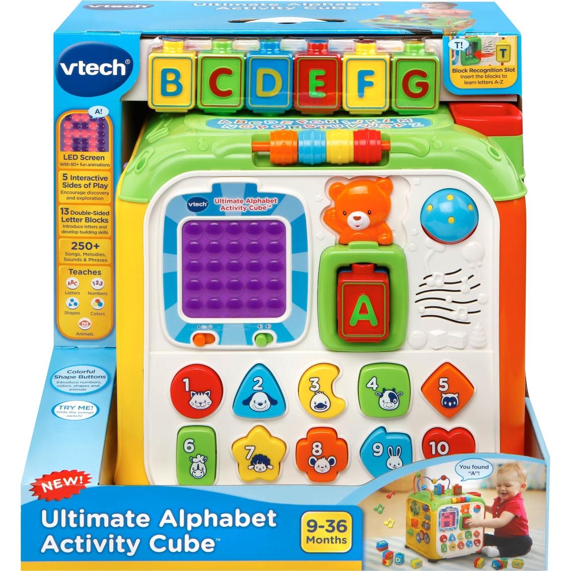 Vtech Ultimate Alphabet Activity Cube Abcs Reading Writing