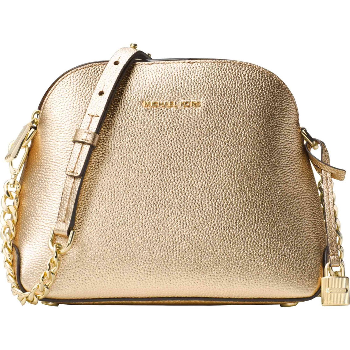 f7f4530f8f6c Michael Kors Mercer Medium Dome Messenger Bag