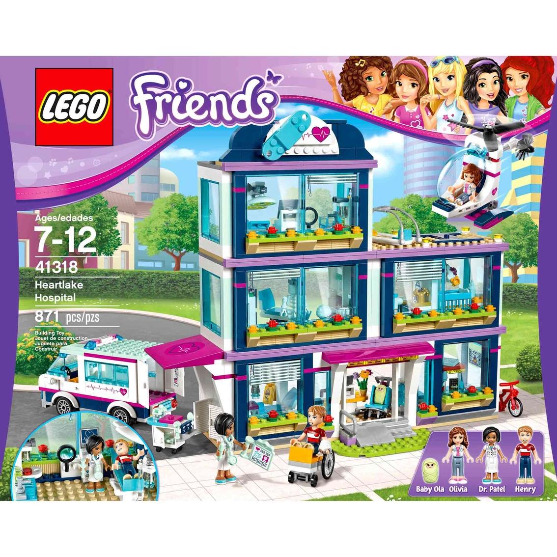 Lego Friends Heartlake Hospital Lego Friends Baby Toys Shop