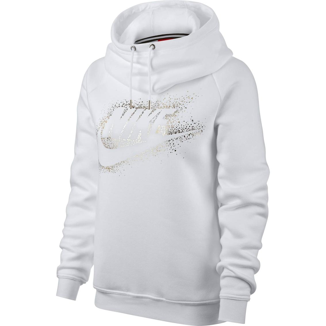 f00a36684450 Nike Sportswear Rally Funnel Neck Hoodie