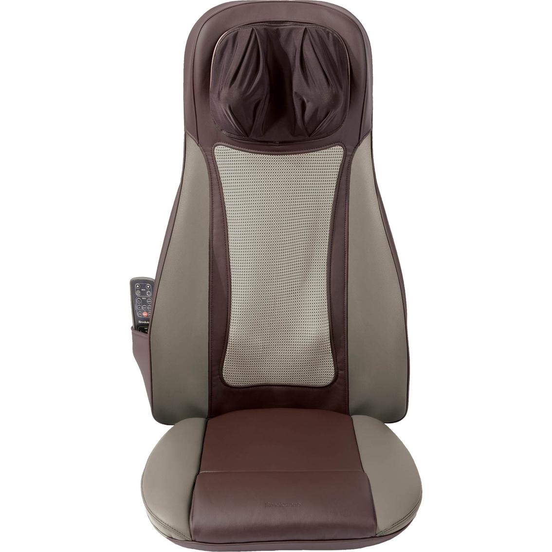 Brookstone S6 Shiatsu Seat Massager With Heat Massagers