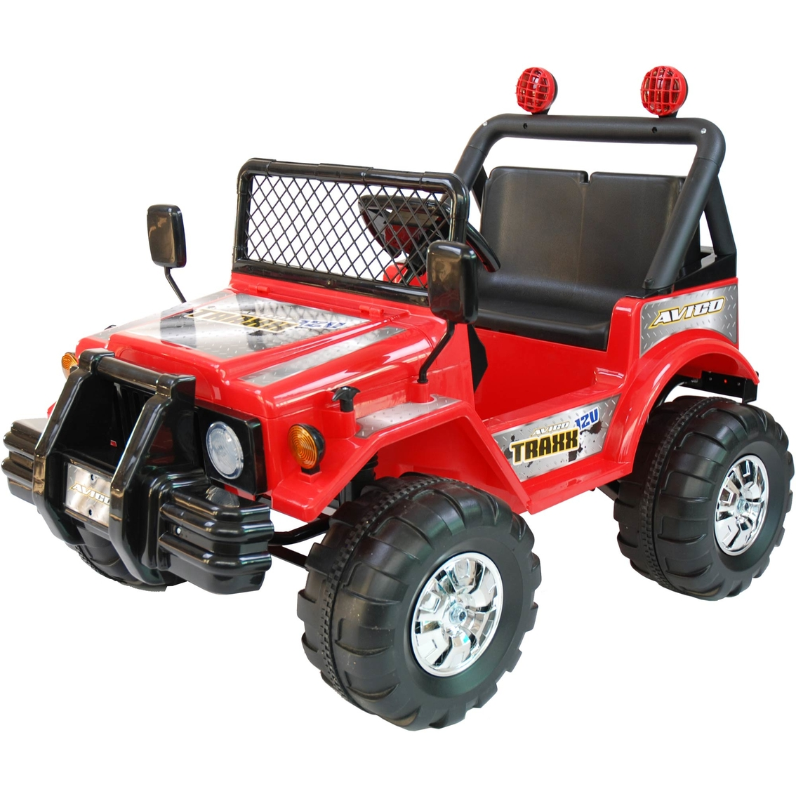 Battery Powered Riding Toys For Boys : Kidtrax avigo traxx volt electric ride on red