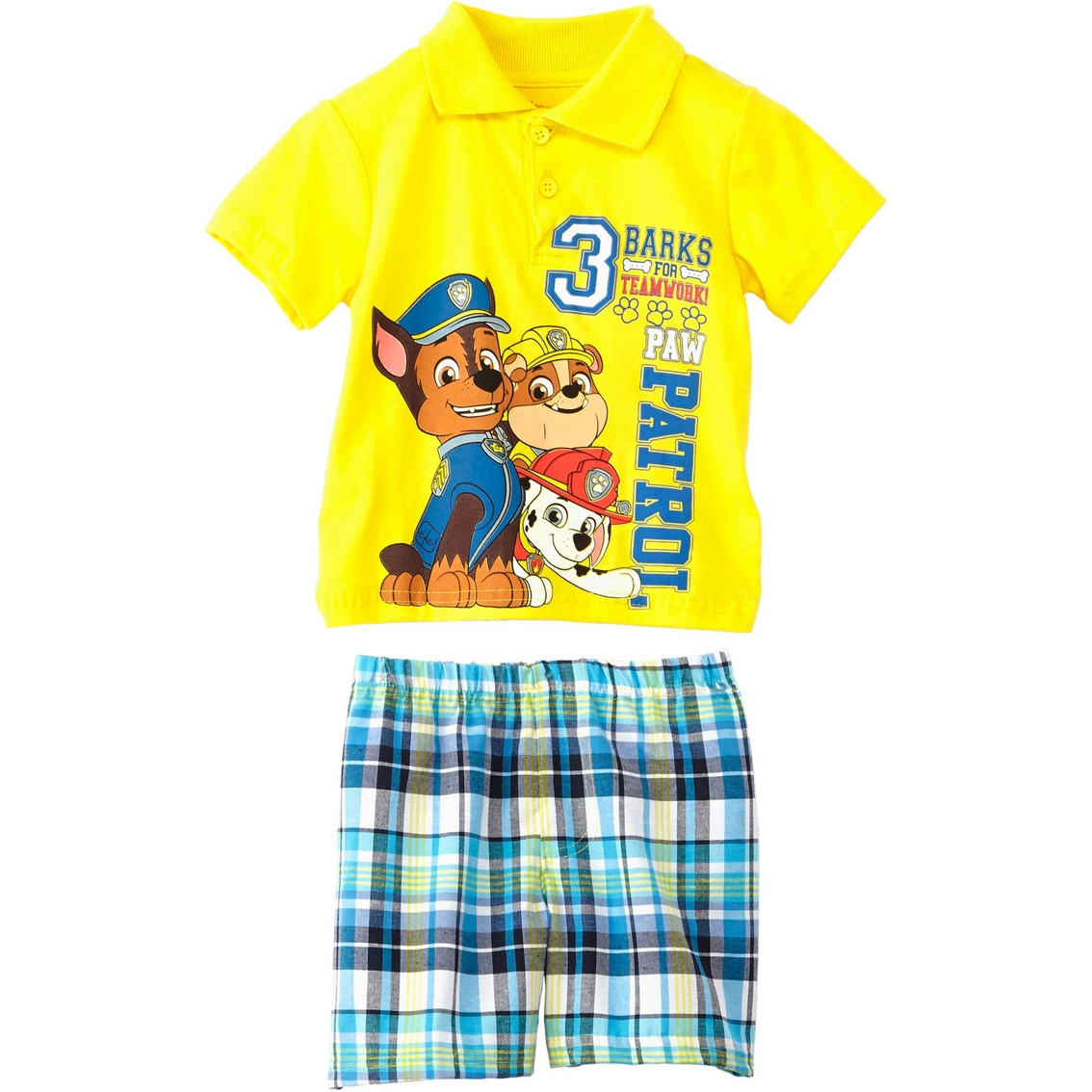 0d68b5d69541 Nickelodeon Infant Boys 2 Pc. Paw Patrol Polo Shirt And Shorts Set ...