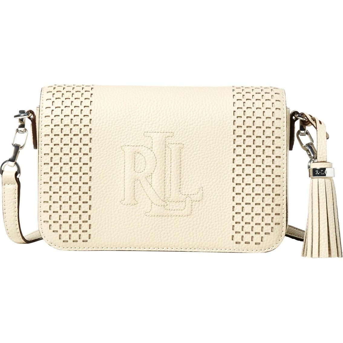 4594117746b4 Lauren Ralph Lauren Anstey Carmen Perforated Leather Crossbody ...