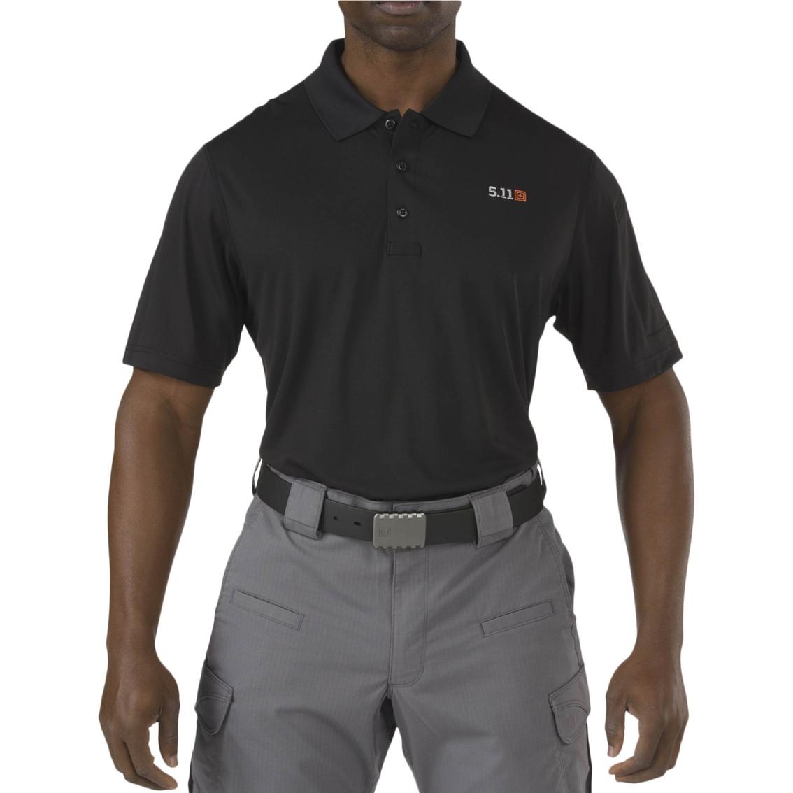 5.11 Tactical Pinnacle Polo Shirt X Large Black J4pT4K9U