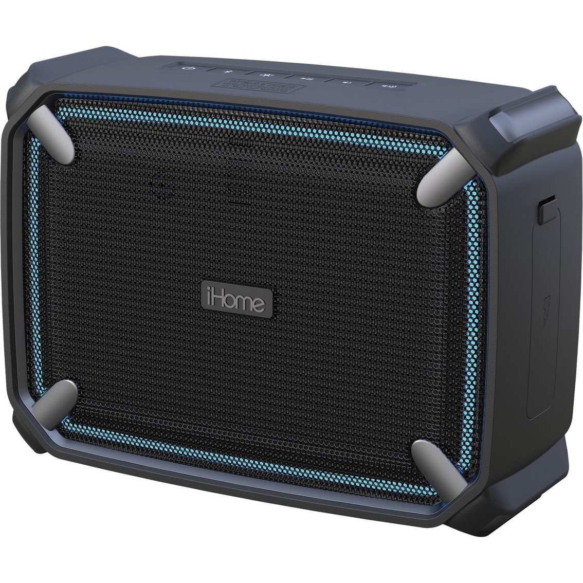 Ihome Bluetooth Portable Speaker: Ihome Weather Tough Model 4 Rechargeable Bluetooth Speaker With Speakerphone