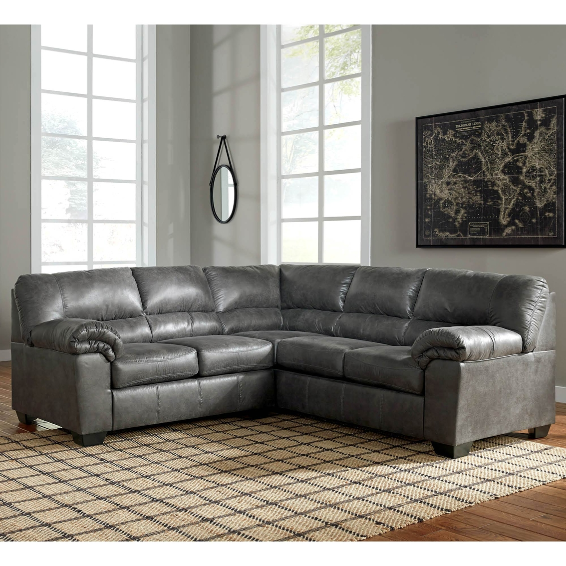 Terrific Signature Design By Ashley Bladen 2 Pc Sectional Raf Andrewgaddart Wooden Chair Designs For Living Room Andrewgaddartcom