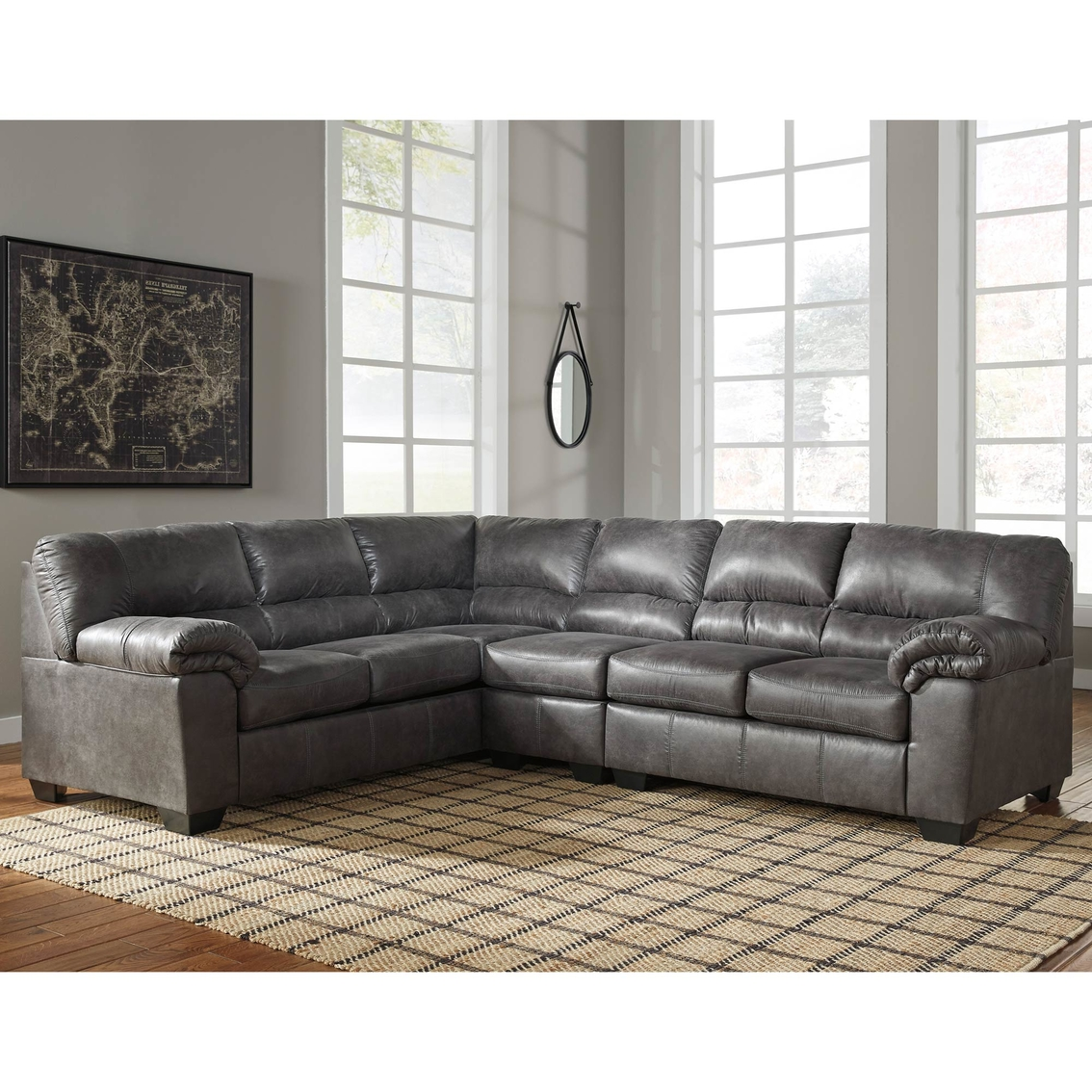 Signature Design By Ashley Bladen 3 Pc Sectional Raf