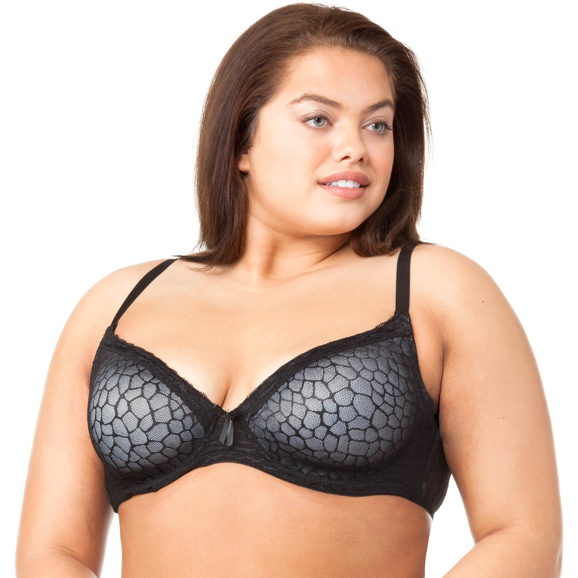 7a0343719 Rene Rofe Plus Size Lightly Padded Perfect Fit Bra 2 Pk.