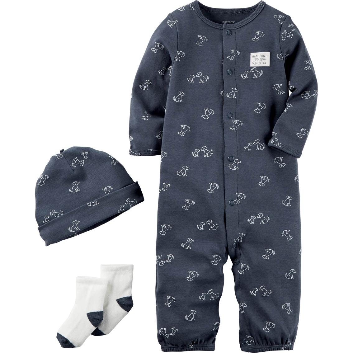 aca05aaa9743 Carter s Infant Boys 3 Pc. Babysoft Take Me Home Set