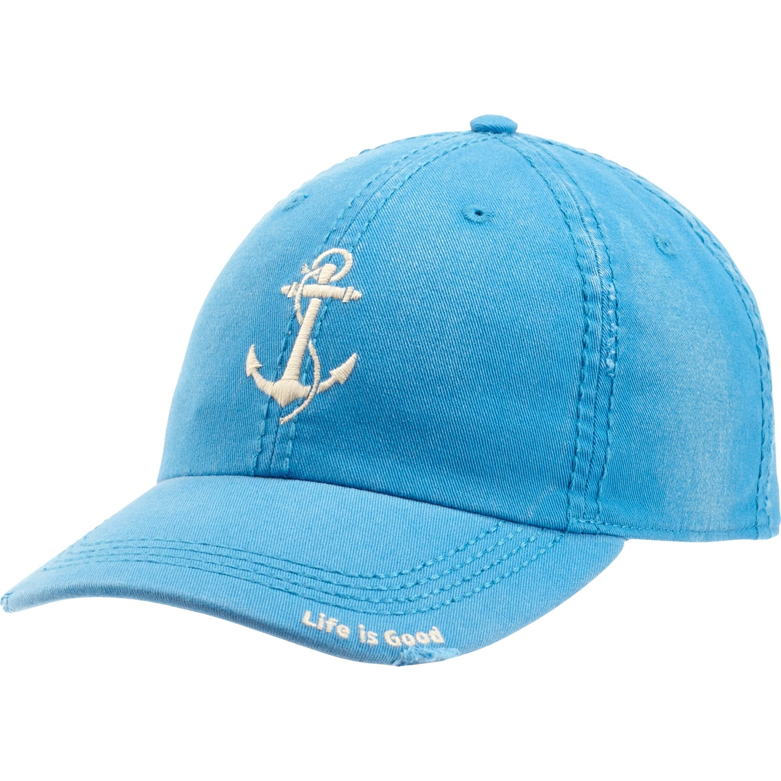 Life Is Good Sunwashed Chill Cap Anchor | Hats & Visors