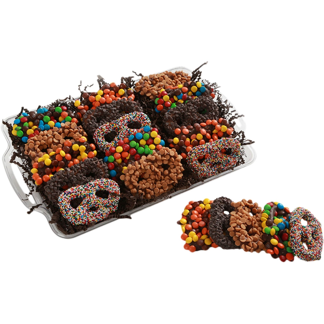 Chocolate Works Assorted Chocolate Covered Pretzels, 15 Ct ...