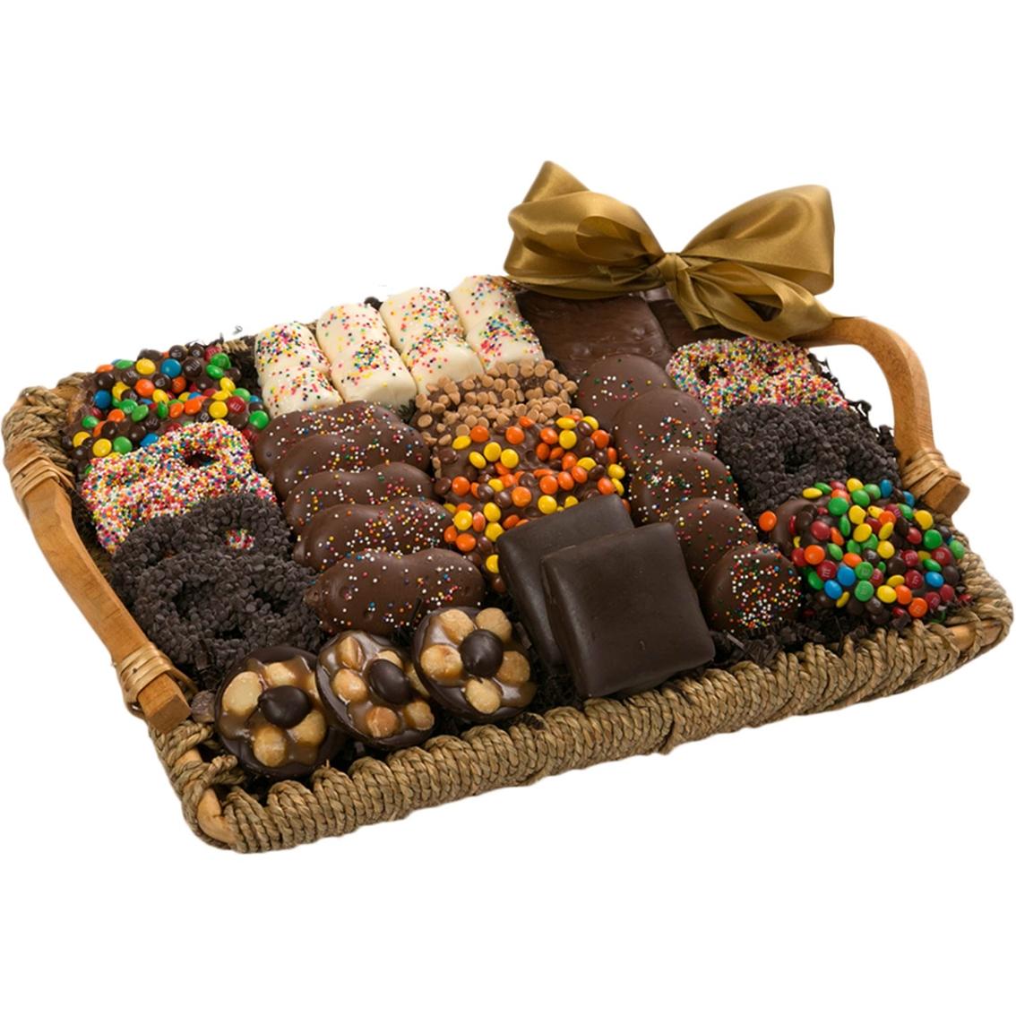 Chocolate Works Chocolate Tray Gift Basket   Sweets & Chocolate ...