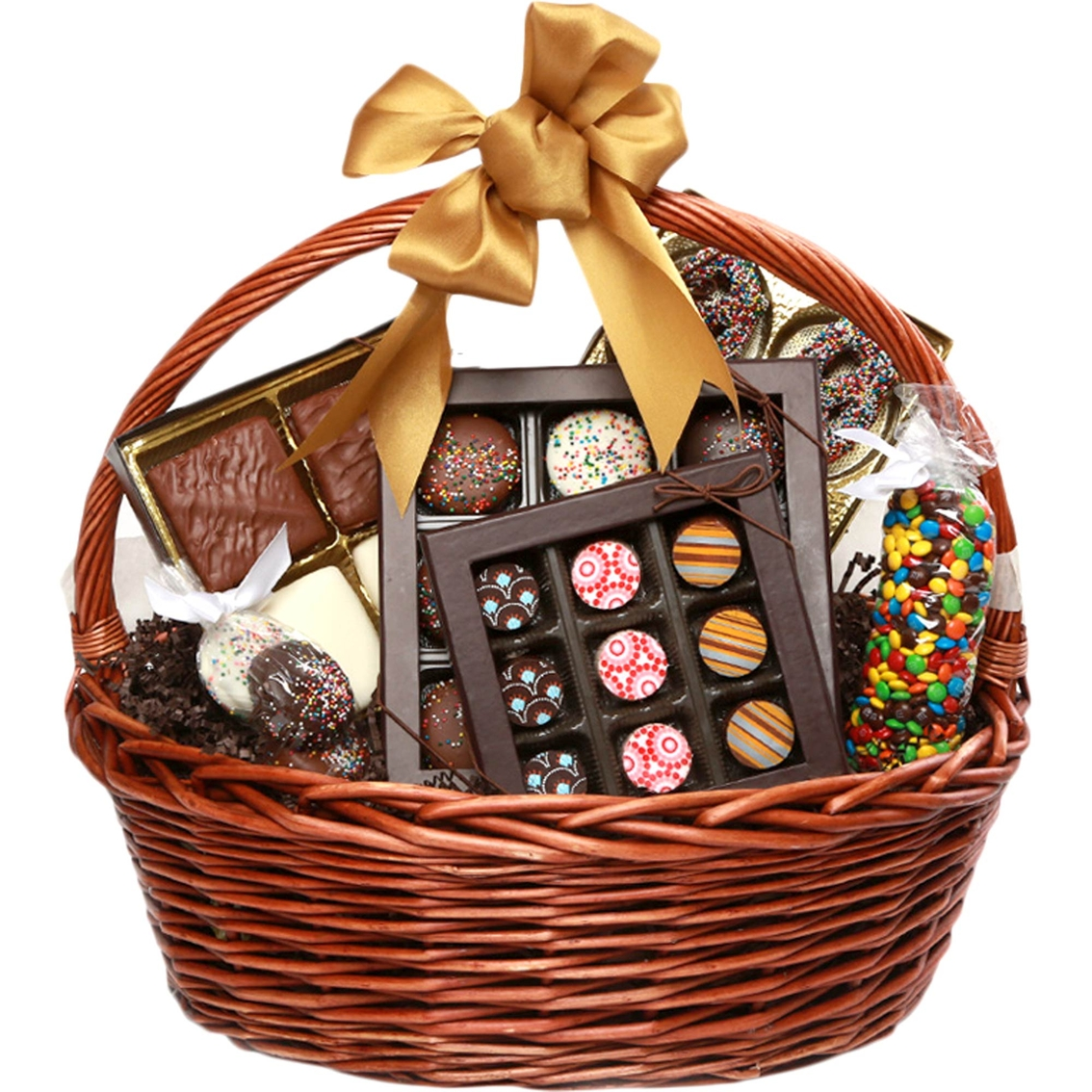 Chocolate Works Medium Chocolate Gift Basket   Sweets & Chocolate ...