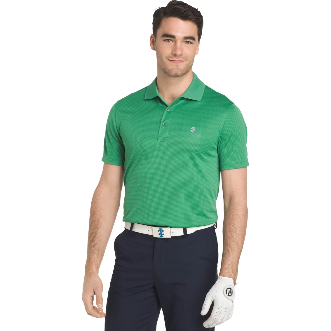 in stock limpid in sight fashion styles Izod Champion Grid Golf Polo   Polos   Apparel   Shop The ...
