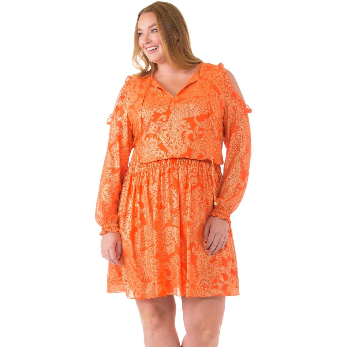 Michael Kors Plus Size Samara Cold Shoulder Dress | Dresses ...