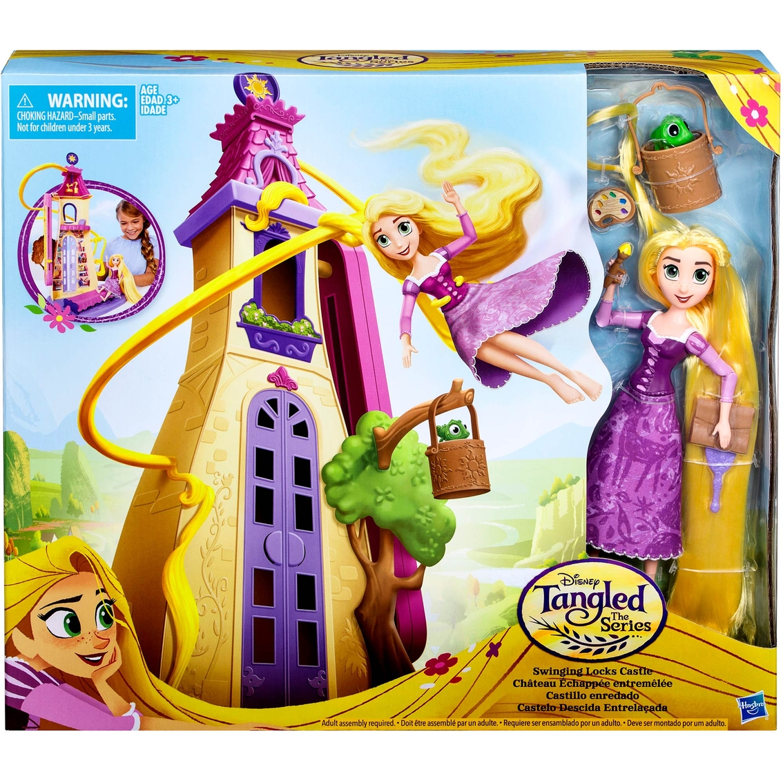 Disney Tangled The Series Swinging Locks Castle With Rapunzel Figure Dolls Baby Toys Shop The Exchange