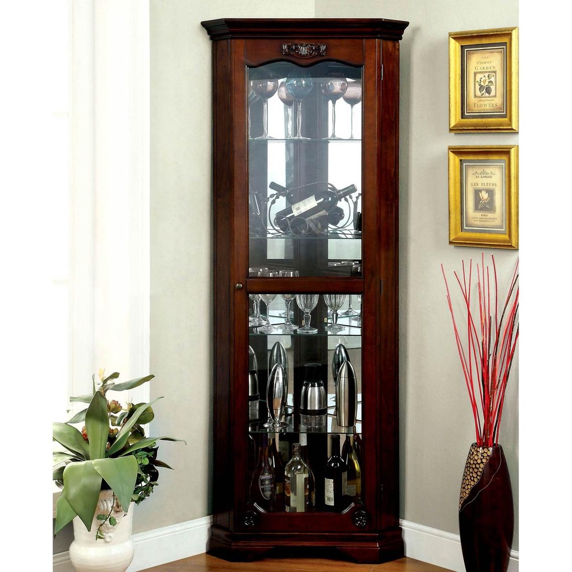 Furniture Of America Ortley Curio Cabinet