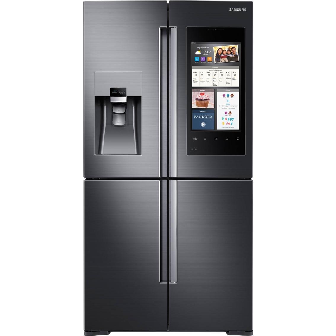 Samsung 28 Cu Ft  4 Door Flex Refrigerator With Family Hub