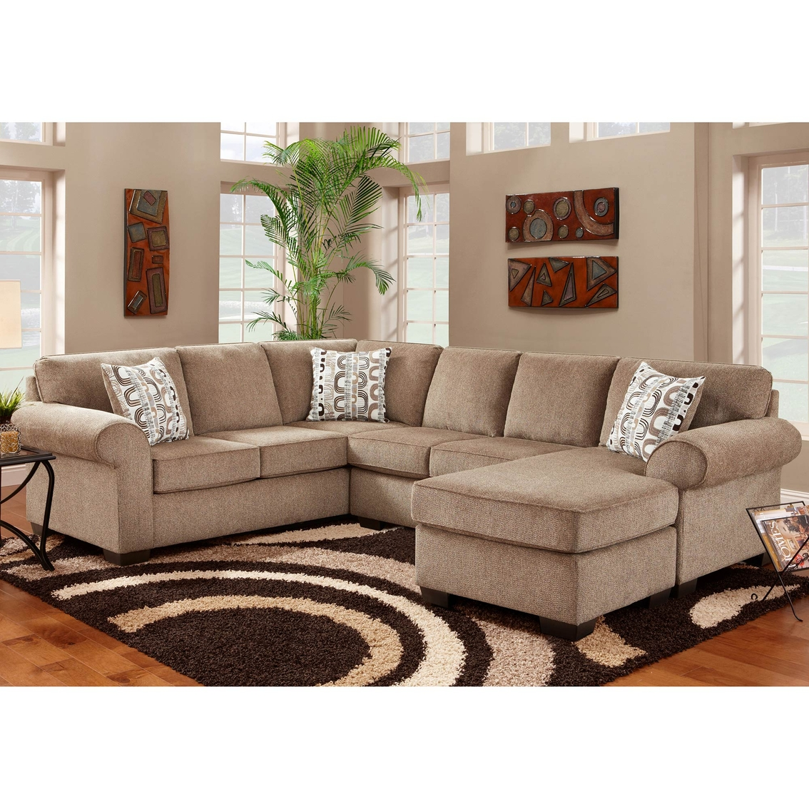 Chelsea Home Furniture Roosevelt Sectional