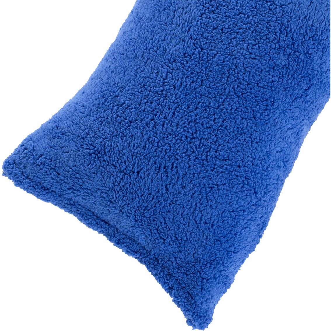Sherpa Body Pillow Cover.Lavish Home Sherpa Body Pillow Cover Pillowcases Home