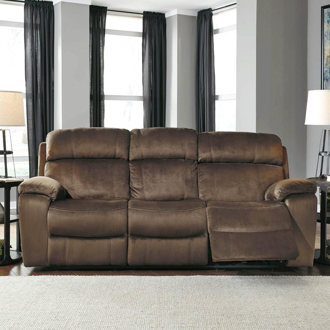 Ashley Uhland Power Reclining Sofa With Power Adjusting Headrests