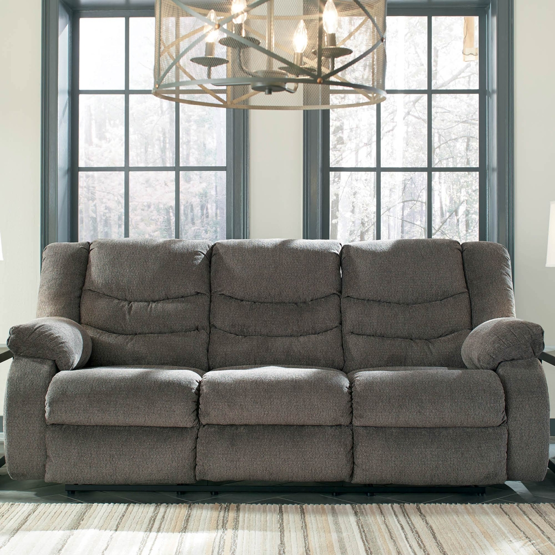 Ashley Furniture Closeout: Ashley Tulen Reclining Sofa