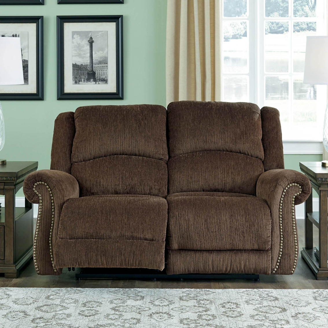 Strange Ashley Goodlow Power Reclining Loveseat With Power Headrest Alphanode Cool Chair Designs And Ideas Alphanodeonline