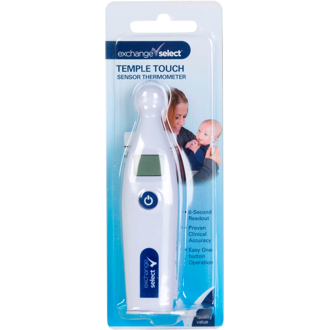 Exchange Select Temple Touch Mini Digital Thermometer | Cold, Cough ...