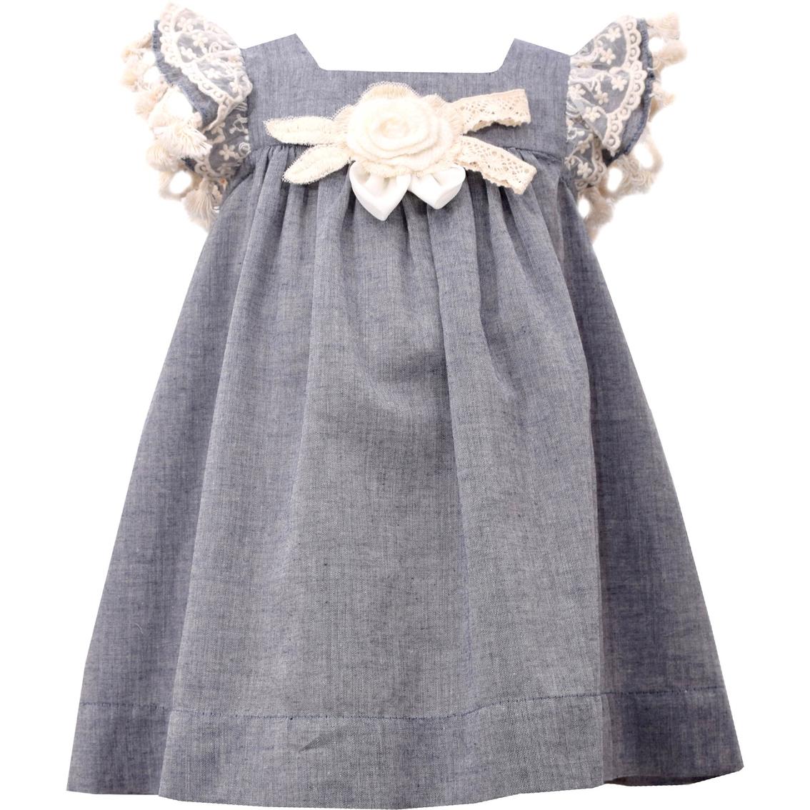 2e7794808 Bonnie Jean Infant Girls Chambray Float Dress Set | Girls' Apparel ...