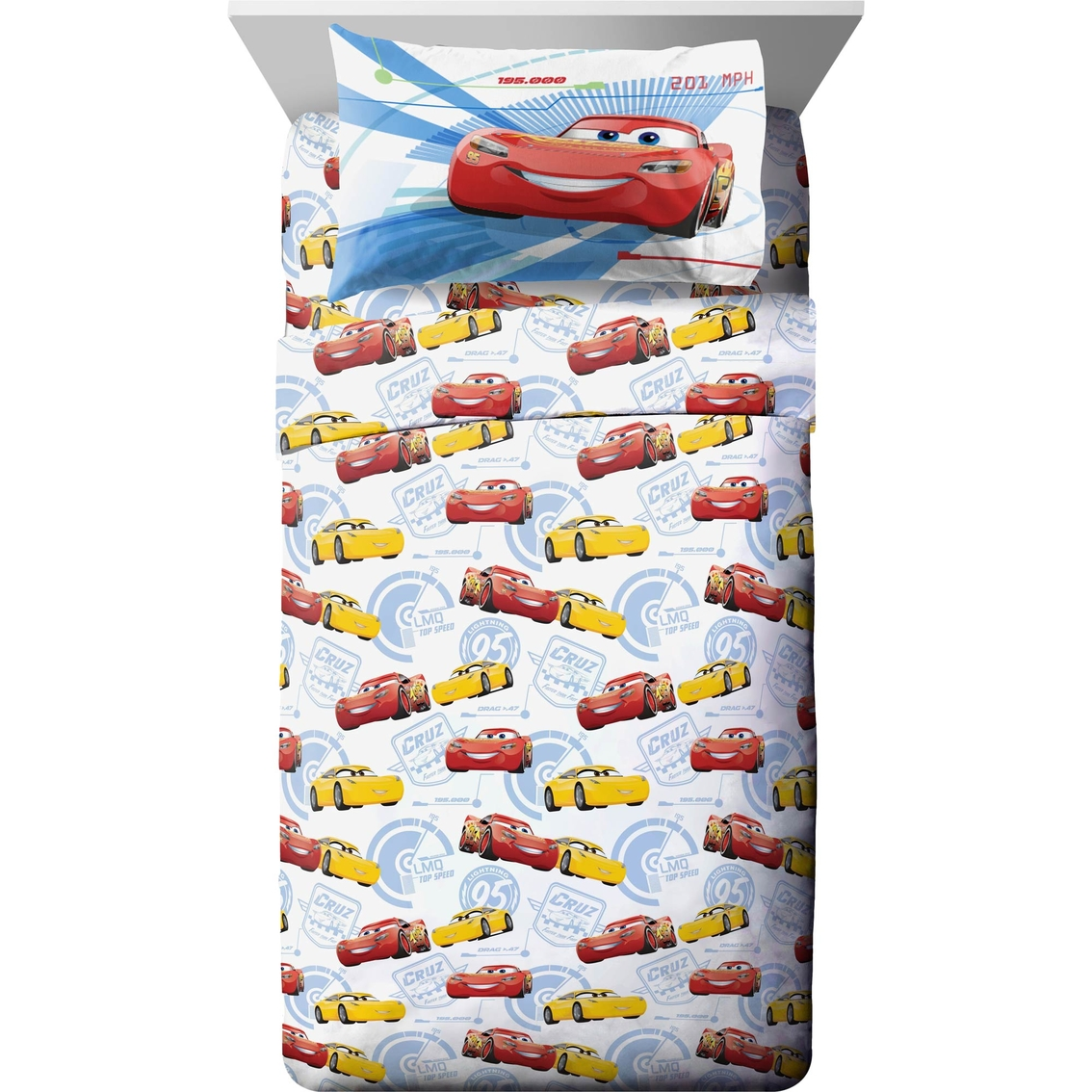Jay Franco And Sons Cars 3 Twin 3 Pc. Sheet Set